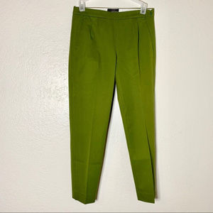 J. Crew Woodland Green Martie Slim Crop Side Zip